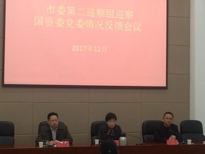 市委第二巡察组向国资委党委反馈巡察意见