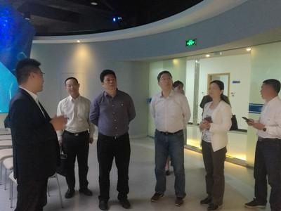 国资委副主任赵民一行赴南方中金环境股份有限公司考察调研