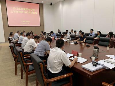 市国资委召开2019年上半年经济运行分析会